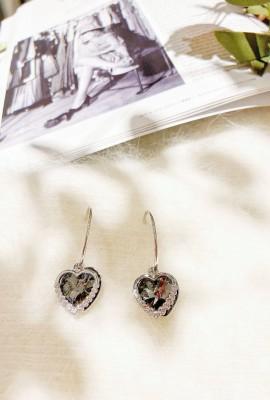 Ocean Heart Earring