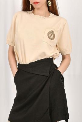 Korea Design Knitted Top