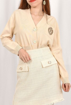 Korea Design Knit Cardigan