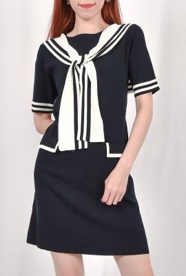 Navy Sailor Dress