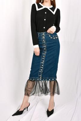 Chelsea Collar Knit Blouse