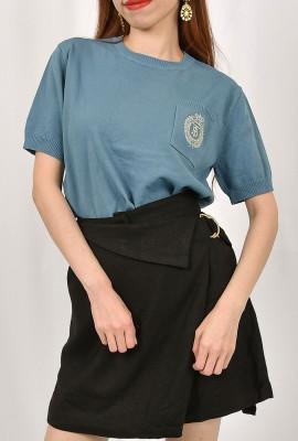 Pelmet Skirt Pant with O ring