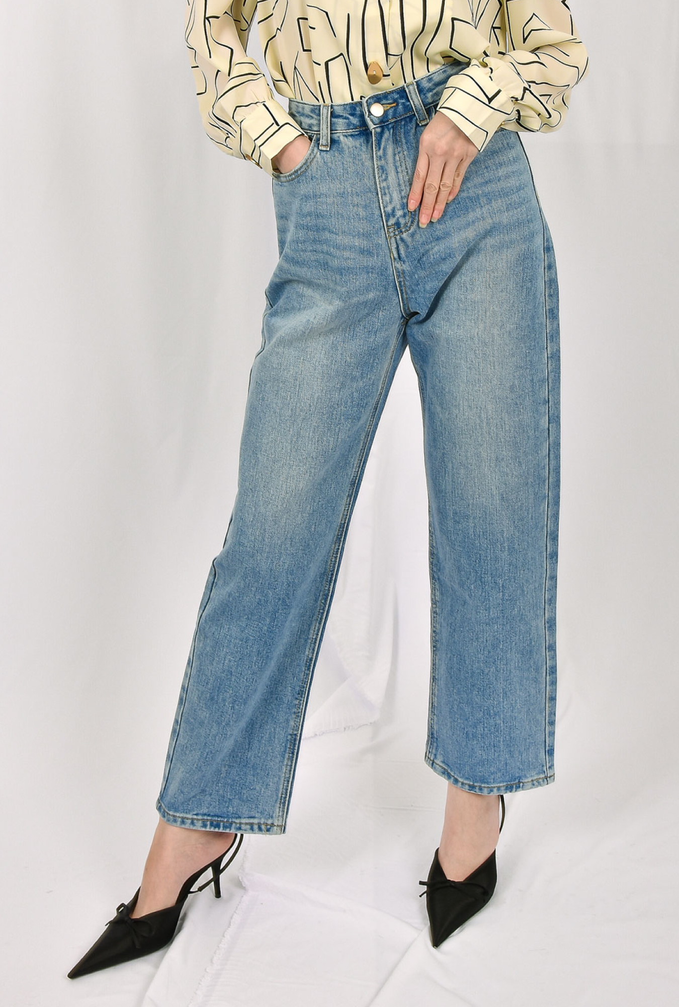 Straight Cut Jeans